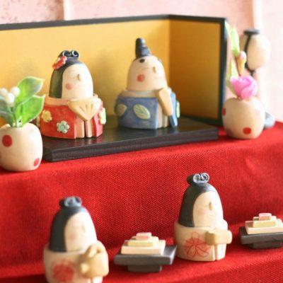 「岡崎順子 おひなさま2020」展示・販売についてお知らせ